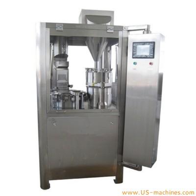 Automatic capsule filling machine 12000 pcs/hour pharmaceutical powder pellet filler equipment GR-200 high accuracy electric type capsule filler