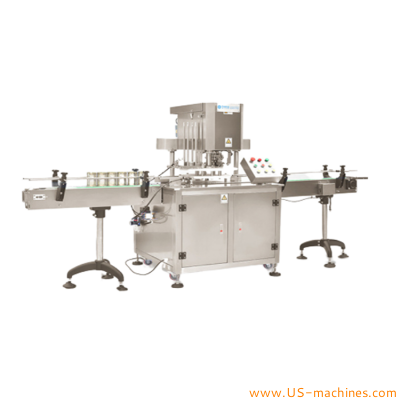 Automatic can tin sealing machine rotary paper aluminum PET plastic can tin metal lid sealing seaming machine linear metal can tin seamer sealer line